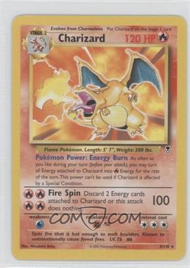 2002 Pokemon Legendary Collection - Booster Pack Reprint Set #3 - Charizard