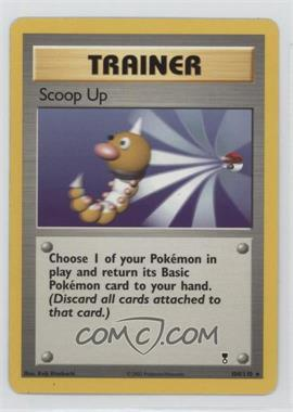 2002 Pokemon Legendary Collection Booster Pack Reprint Set #104 - Scoop Up