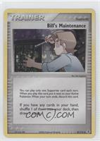 Bill's Maintenance