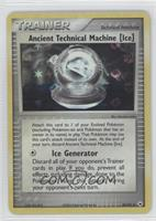 Ancient Technical Machine [Ice]