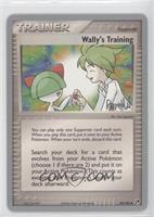 Wally's Training