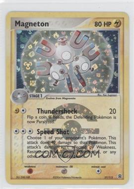 2004 Pokémon EX FireRed & LeafGreen Booster Pack [Base] Reverse Foil #27 - Magneton