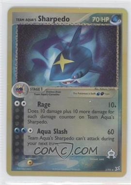 2004 Pokemon EX Team Magma vs. Team Aqua - Booster Pack [Base] - Reverse Foil #5 - Team Aqua's Sharpedo