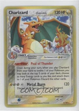 2006 Pokémon EX Crystal Guardians Booster Pack [Base] #4 - Charizard