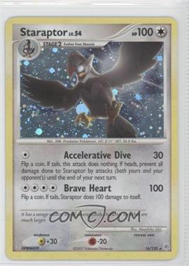 2007 Pokémon EX Diamond & Pearl - Booster Pack [Base] #16 - Staraptor