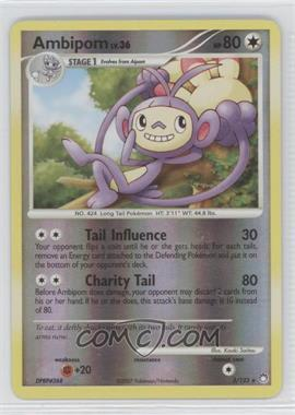 2007 Pokémon Mysterious Treasures Booster Pack [Base] Reverse Foil #3 - Ambipom