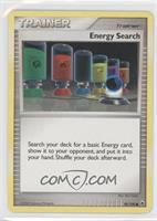 Energy Search