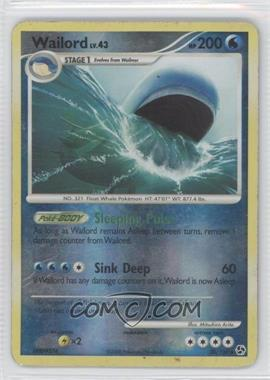 2008 Pokémon Great Encounters Booster Pack [Base] Reverse Foil #30 - Wailord