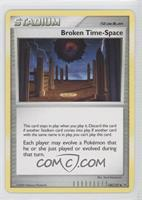 Broken Time-Space