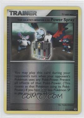 2009 Pokémon Platinum Booster Pack [Base] Reverse Foil #117 - Team Galactic's Invention G-103 Power Spray