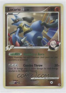 2009 Pokémon Rising Rivals Booster Pack [Base] Reverse Foil #8 - Lucario