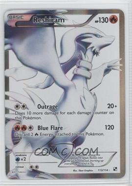 2011 Pokémon Black & White Booster Pack [Base] #113 - Reshiram