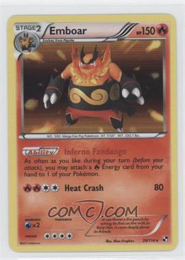 2011 Pokémon Black & White Booster Pack [Base] #20 - Emboar