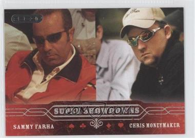 2006 Razor Poker - [Base] #52 - Sammy Farha, Chris Moneymaker
