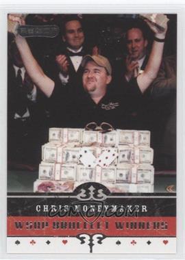 2006 Razor Poker - [Base] #62 - Chris Moneymaker