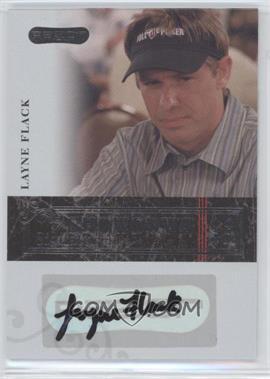 2006 Razor Poker - Showdown Signatures - [Autographed] #A-16 - Layne Flack