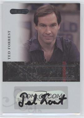 2006 Razor Poker - Showdown Signatures - [Autographed] #A-17 - Ted Forrest