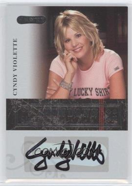 2006 Razor Poker - Showdown Signatures - [Autographed] #A-24 - Cyndy Violette