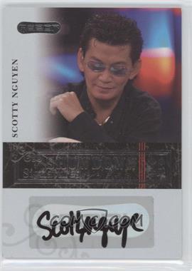 2006 Razor Poker - Showdown Signatures - [Autographed] #A-31 - Scotty Nguyen