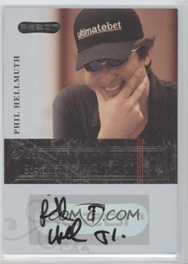 2006 Razor Poker Showdown Signatures [Autographed] #A-11 - Phil Hellmuth