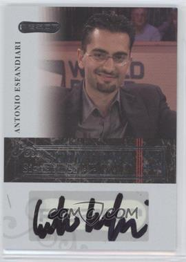 2006 Razor Poker Showdown Signatures [Autographed] #A-13 - Antonio Esfandiari
