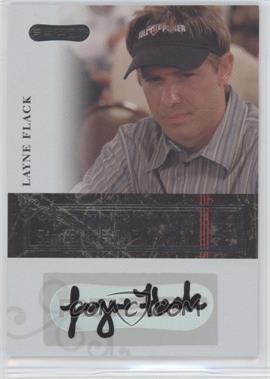 2006 Razor Poker Showdown Signatures [Autographed] #A-16 - Layne Flack