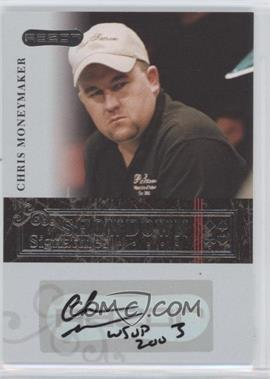 2006 Razor Poker Showdown Signatures [Autographed] #A-29 - Chris Moneymaker