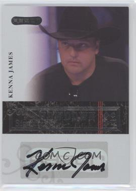 2006 Razor Poker Showdown Signatures [Autographed] #A-35 - Kenna James