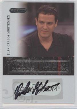 2006 Razor Poker Showdown Signatures [Autographed] #A-4 - Juan Carlos Mortensen