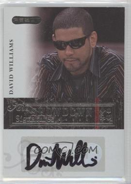 2006 Razor Poker Showdown Signatures [Autographed] #A-7 - David Williams