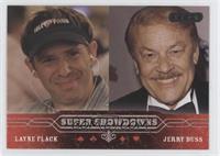 Layne Flack, Jerry Buss