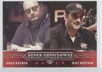 Greg Raymer, Mike Matusow
