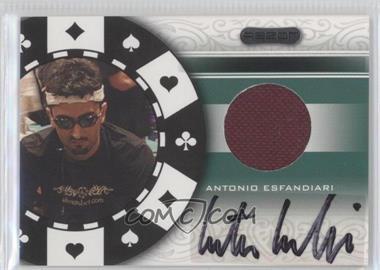 2007 Razor - Poker Paraphernalia #SS-80 - Antonio Esfandiari