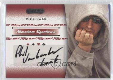 2007 Razor Poker - Showdown Signatures #SS-22 - Phil Laak