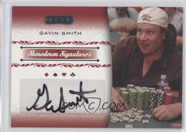 2007 Razor Poker - Showdown Signatures #SS-41 - Gavin Smith
