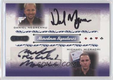 2007 Razor Poker - Showdown Signatures #SS-48 - Daniel Negreanu, Michael Mizrachi