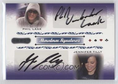2007 Razor Poker - Showdown Signatures #SS-68 - Phil Laak, Jennifer Tilly