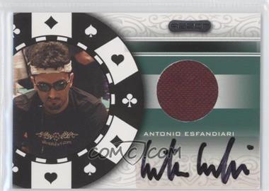 2007 Razor Poker Paraphernalia #SS-80 - Antonio Esfandiari