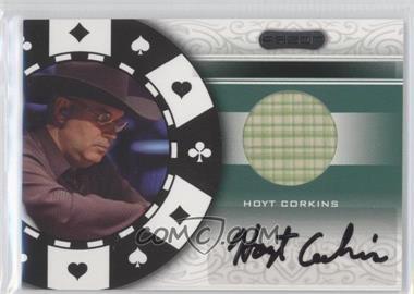 2007 Razor Poker Paraphernalia #SS-82 - Hoyt Corkins
