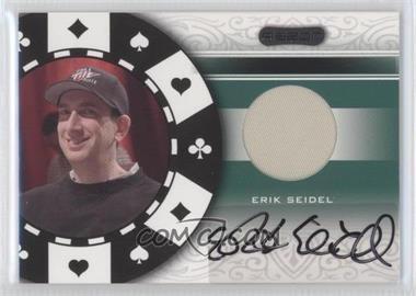 2007 Razor Poker Paraphernalia #SS-84 - Erik Seidel
