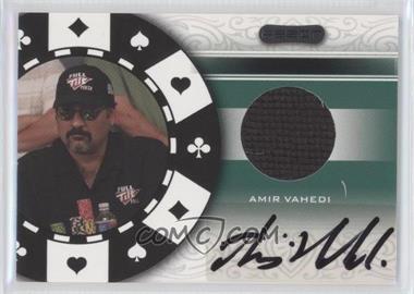 2007 Razor Poker Paraphernalia #SS-85 - Amir Vahedi