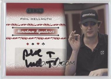 2007 Razor Poker Showdown Signatures [Autographed] #SS-18 - [Missing]