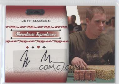 2007 Razor Poker Showdown Signatures [Autographed] #SS-26 - [Missing]