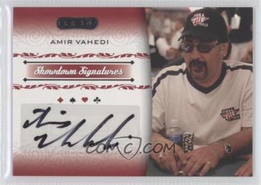 2007 Razor Poker Showdown Signatures [Autographed] #SS-43 - Amir Vahedi