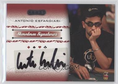 2007 Razor Poker Showdown Signatures [Autographed] #SS-9 - [Missing]