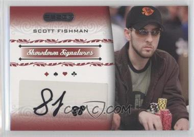 2007 Razor Poker Showdown Signatures #SS-10 - Scott Fischman