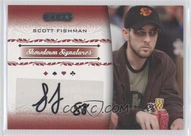 2007 Razor Poker Showdown Signatures #SS-10 - Scott Fischman