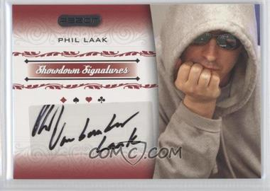 2007 Razor Poker Showdown Signatures #SS-22 - Phil Laak