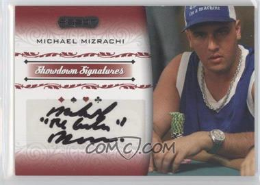 2007 Razor Poker Showdown Signatures #SS-30 - Michael Mizrachi