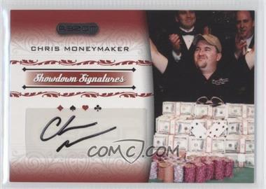 2007 Razor Poker Showdown Signatures #SS-31 - Chris Moneymaker